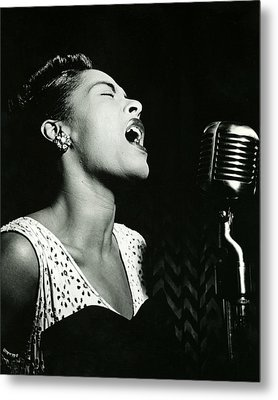 Billie Holiday Metal Print by Retro Images Archive