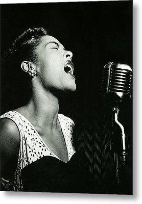 Billie Holiday Metal Print