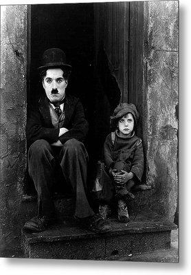 Charlie Chaplin Metal Print