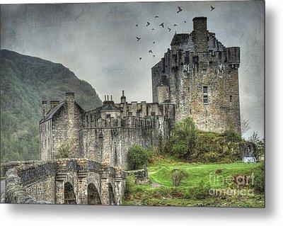 Eilean Donan Castle Metal Print by Juli Scalzi
