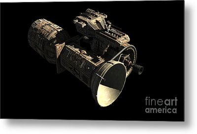 Frenchbulgarian Orbital Weapons Metal Print by Rhys Taylor