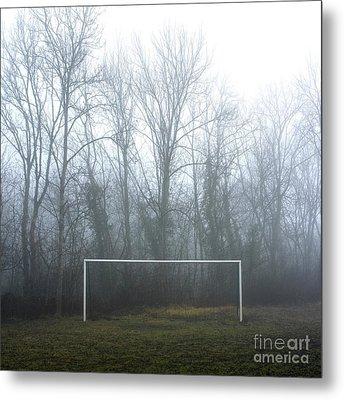 Goal Metal Print by Bernard Jaubert