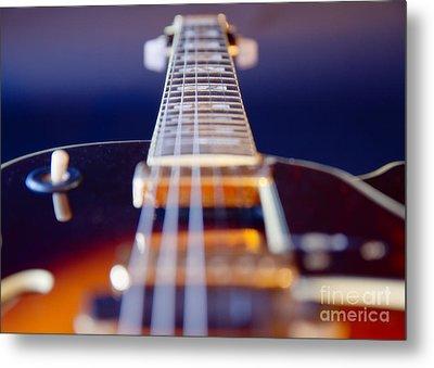 Guitar Metal Print by Stelios Kleanthous