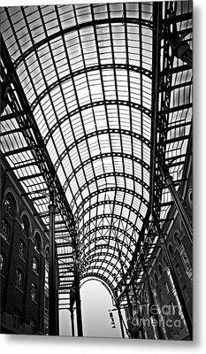 Hay's Galleria Roof Metal Print by Elena Elisseeva