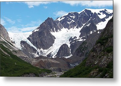 Metal Print featuring the photograph Ice And Snow by Aimee L Maher Photography and Art Visit ALMGallerydotcom