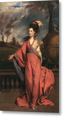 Jane Fleming, Later Countess Metal Print by Sir Joshua Reynolds