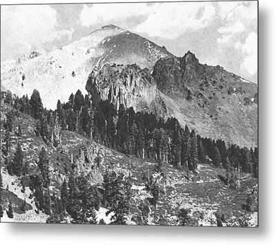 Mount Lassen Volcano Metal Print by Frank Wilson