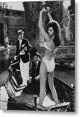 Raquel Welch Metal Print by Retro Images Archive