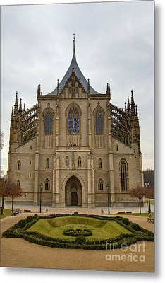 Saint Barbara Church  Metal Print