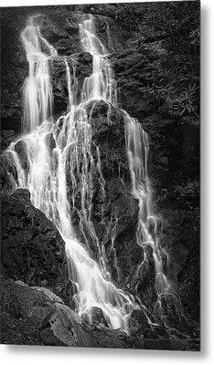Smokey Waterfall Metal Print by Jon Glaser