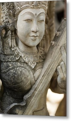 Metal Print featuring the photograph Statue - Bali by Matthew Onheiber