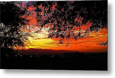 Sunrise Metal Print by Chris Tarpening