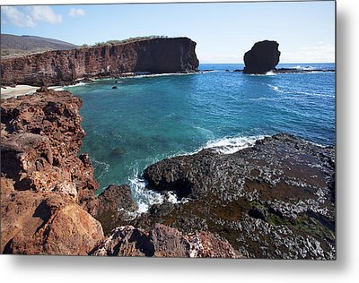 Sweetheart Rock Metal Print by Jenna Szerlag