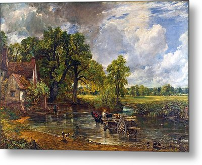 The Hay Wain Metal Print by John Constable