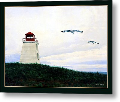 The Lighthouse Metal Print by Ron Haist