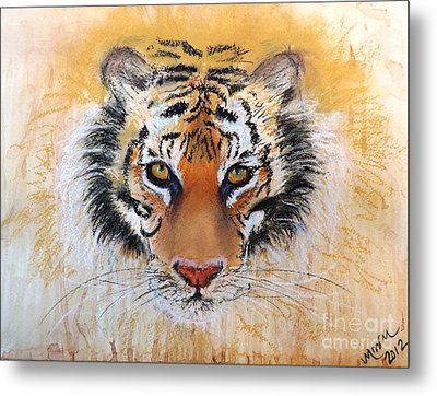 Tiger Tiger Metal Print by Michelle Wolff