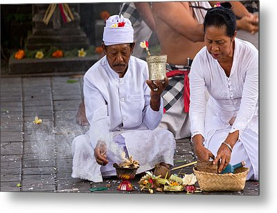 Metal Print featuring the photograph Traditional Dance - Bali by Matthew Onheiber