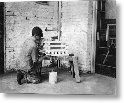 Vocational School, 1917 Metal Print by Granger
