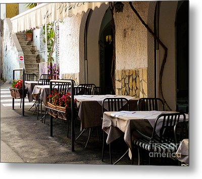 Metal Print featuring the photograph Waiting For Company by Mike Ste Marie