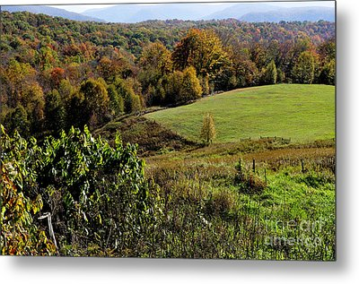 West Virginia Fall Color Metal Print by Thomas R Fletcher