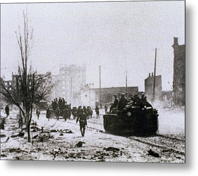 World War II (1939-1945 Metal Print