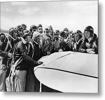Navy Pilots Training Metal Print by Underwood Archives