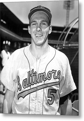 Brooks Robinson Metal Print by Retro Images Archive
