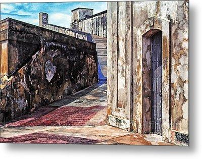 Castillo De San Cristobal Metal Print by Thomas R Fletcher