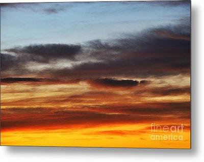 Cloudscape At Sunrise Metal Print by Sami Sarkis