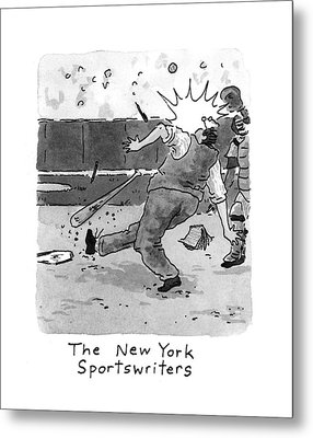 New Yorker April 5th, 1993 Metal Print by Danny Shanahan