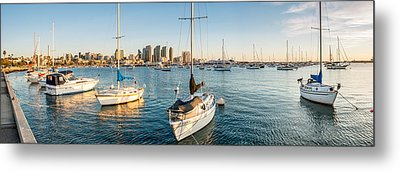 San Diego Bay Sunset Series Metal Print