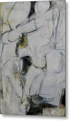 Metal Print featuring the painting Study by Fred Smilde