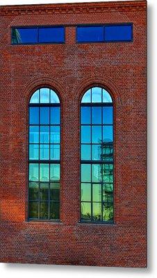 Windows Metal Print by Kent Mathiesen