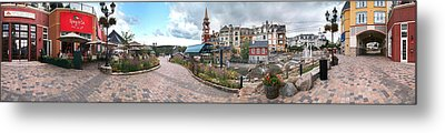 360 View Panorama, Mont-tremblant Metal Print by Henry Lin