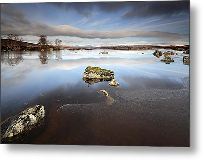 Lochan Na H-achlaise Metal Print by Grant Glendinning