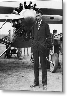 Charles Lindbergh Metal Print by Retro Images Archive