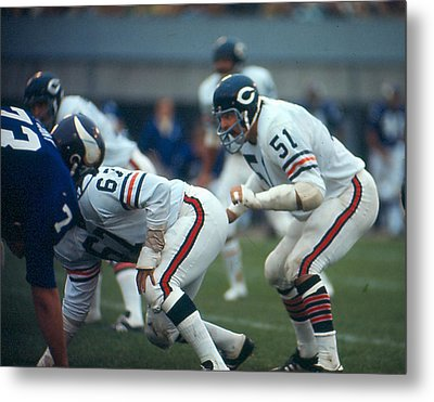 Dick Butkus Metal Print by Retro Images Archive