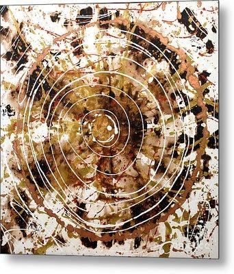 Eternal Circle Metal Print by Baljit Chadha