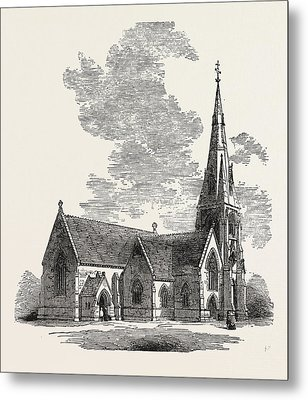 New Church Of St Metal Print by English School