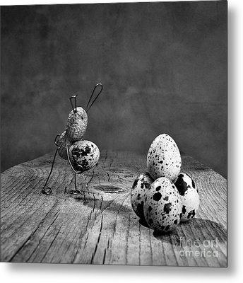 Simple Things Easter Metal Print by Nailia Schwarz