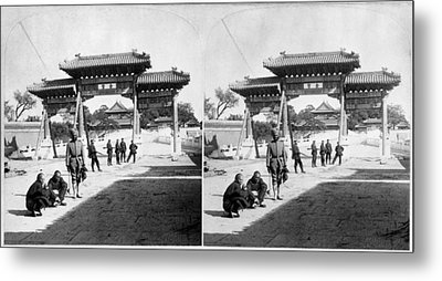 Metal Print featuring the painting China Boxer Rebellion by Granger