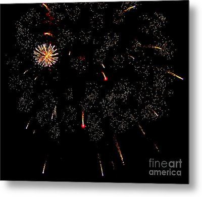 4th Of July Metal Print by Jay Nodianos