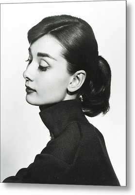 Audrey Hepburn Metal Print by Retro Images Archive
