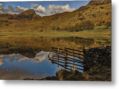Blea Tarn Metal Print by Trevor Kersley
