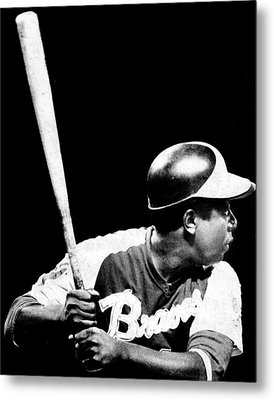 Hank Aaron Metal Print by Retro Images Archive