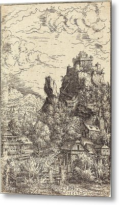 Hans Sebald Lautensack German, 1524 - 1561-1566 Metal Print by Quint Lox