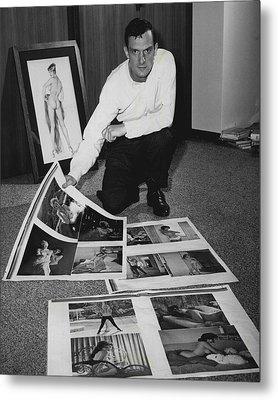 Hugh Hefner Metal Print by Retro Images Archive
