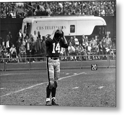 Y.a. Tittle Metal Print