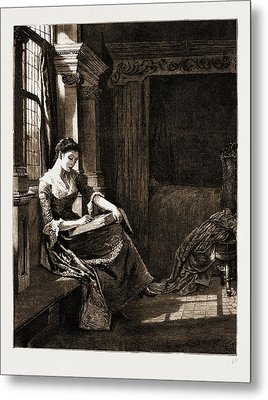 The Chaplain Of The Fleet, Drawn By Charles Green Metal Print