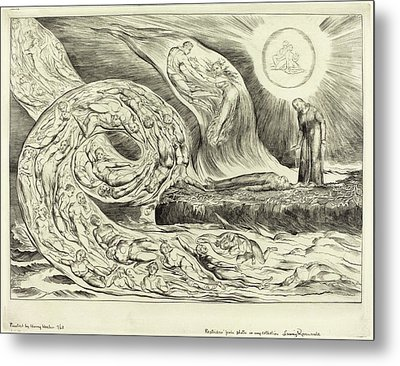 William Blake British, 1757 - 1827, The Circle Metal Print